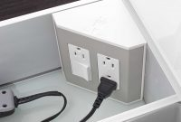 In The Drawer Electrical Outlets For Bathroom Drawers with regard to proportions 3364 X 5170