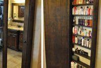 Install A Full Length Mirror With Hidden Shelving Garage regarding proportions 1280 X 1376