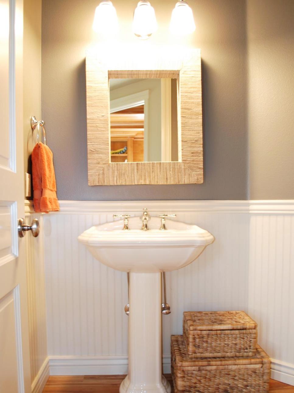 Interior Brilliant Bathroom Storage Ideas Stacked Wicker with dimensions 966 X 1288
