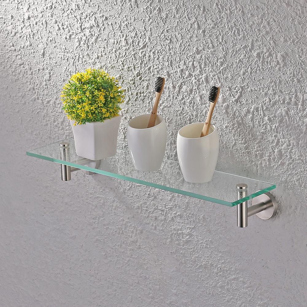 Kes 20 Inch Glass Shelf Bathroom Storage Organizer Shelf in proportions 1000 X 1000