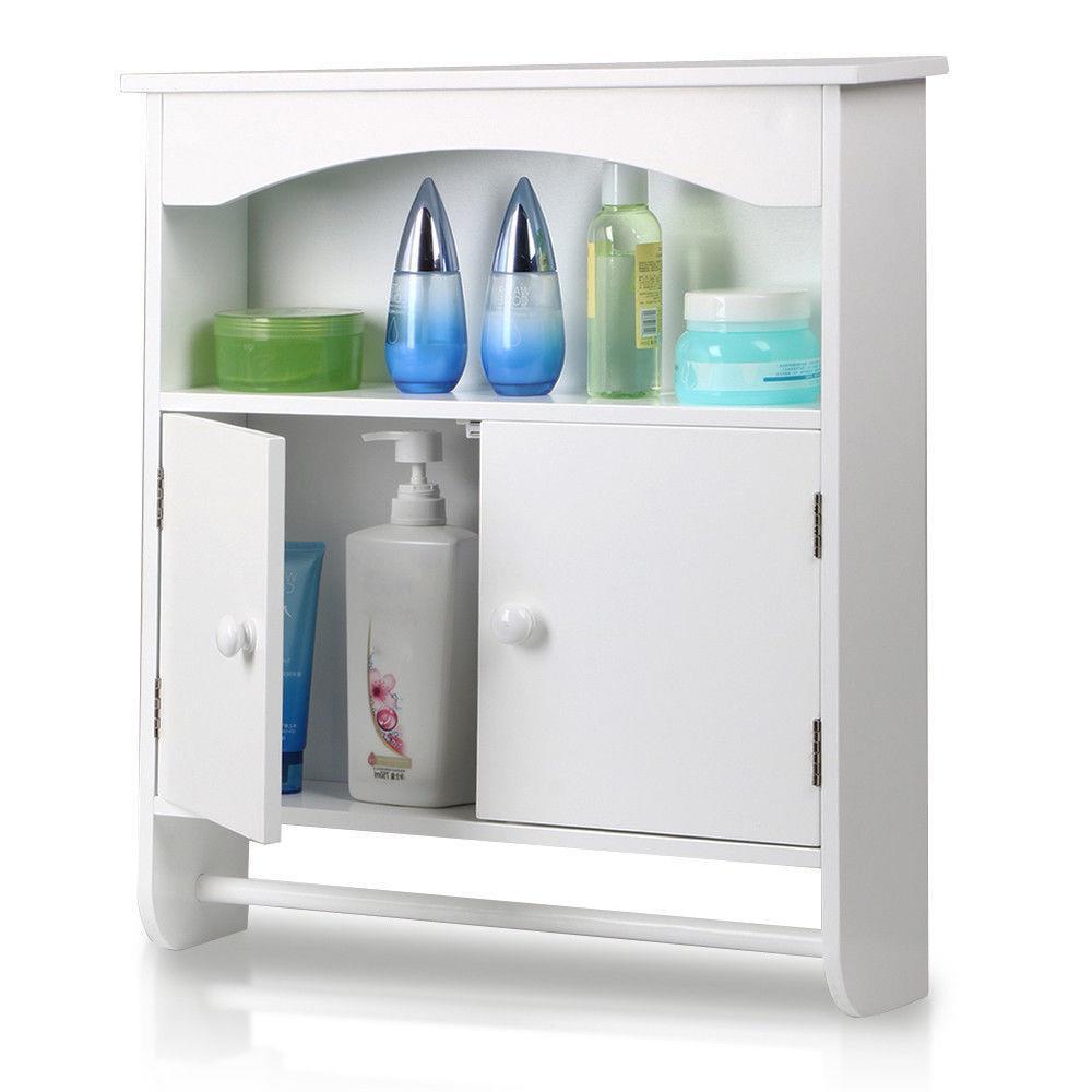 Ktaxon Wall Mount Bathroom Storage Cabinet Towel Shelf Toilet Medicine Organizer pertaining to dimensions 1000 X 1000