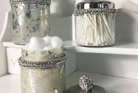 Lemonade Crystal Bathroom Storage Jars pertaining to dimensions 1000 X 1000