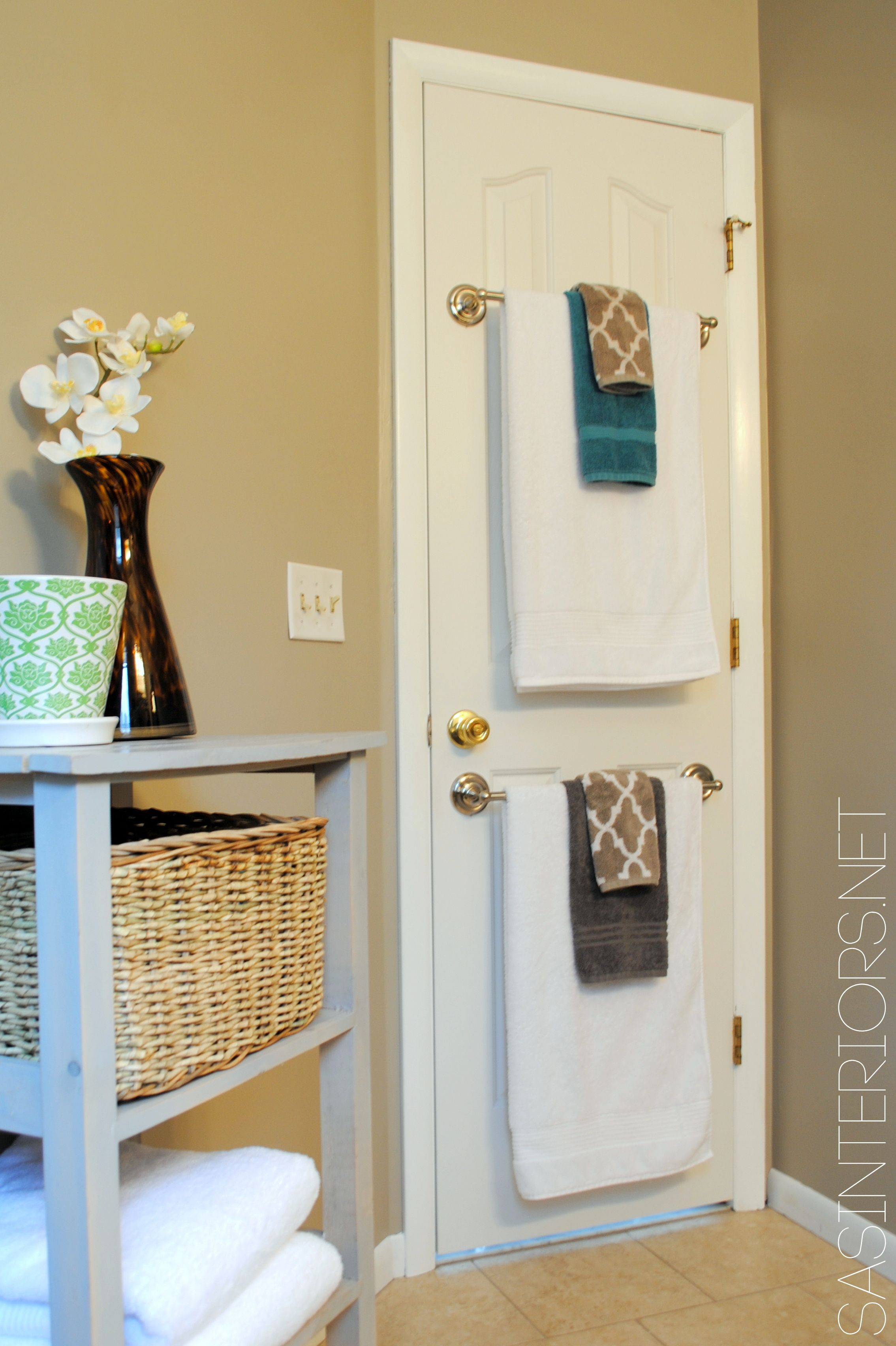 Love The Towel Rods On The Back Of The Door Bathroom within proportions 2269 X 3408