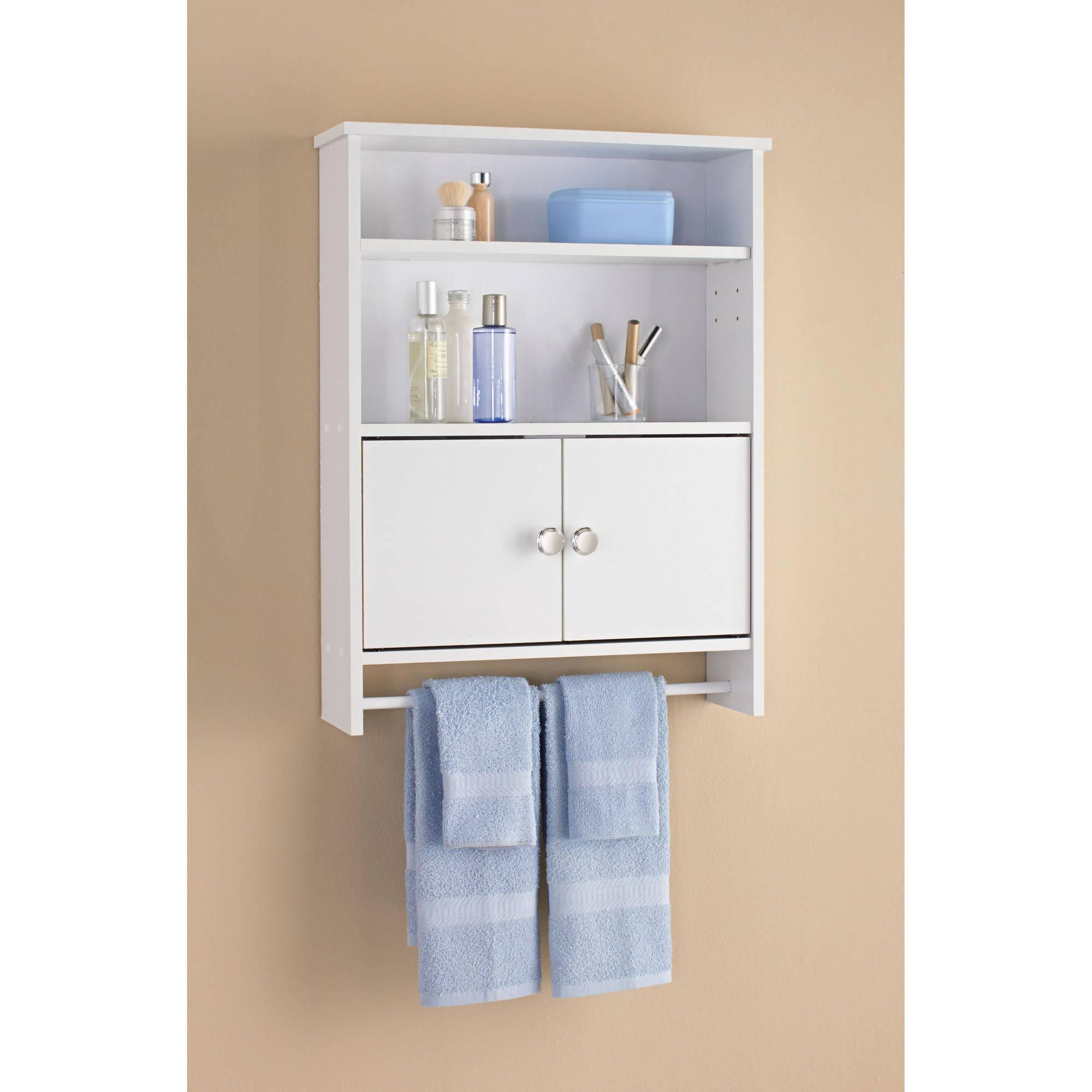 Mainstays 2 Door Bathroom Wall Cabinet White regarding measurements 2000 X 2000