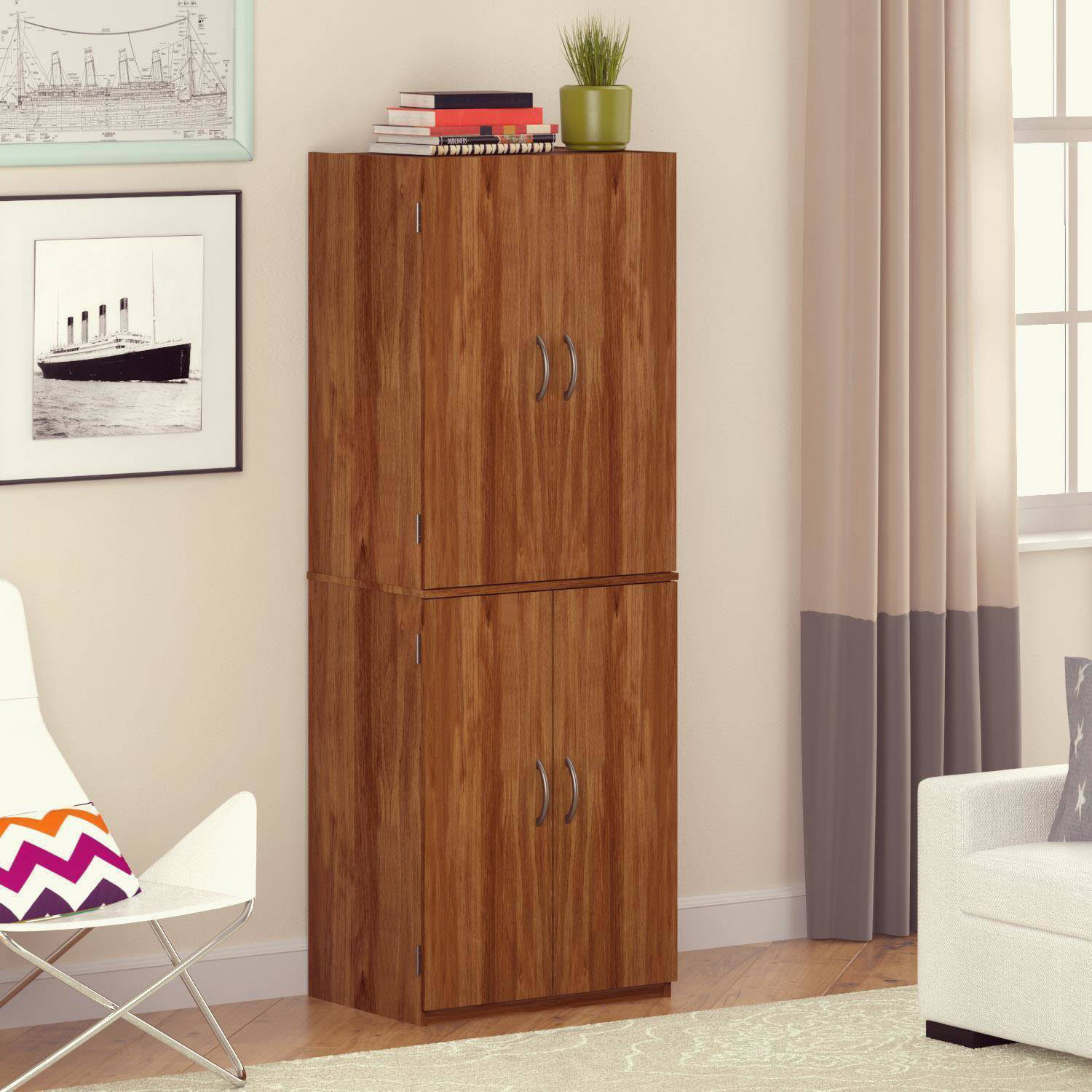 Mainstays Storage Cabinet Multiple Finishes throughout size 1500 X 1500