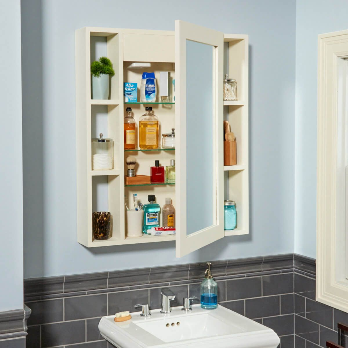 Make A Medicine Cabinet With A Hidden Compartment Weekend throughout dimensions 1200 X 1200