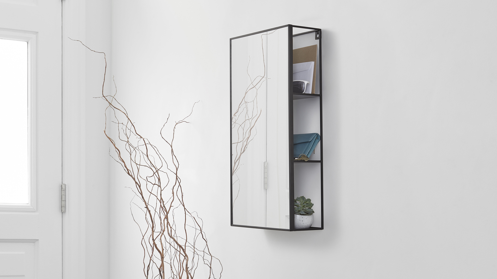 Mirror With Shelves throughout size 1920 X 1080