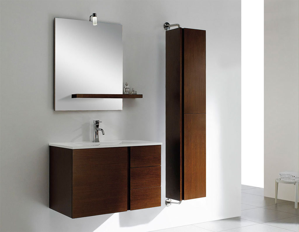 Modern Bathroom Storage Cabinets Delighful Modern Cool Idea regarding measurements 1024 X 795