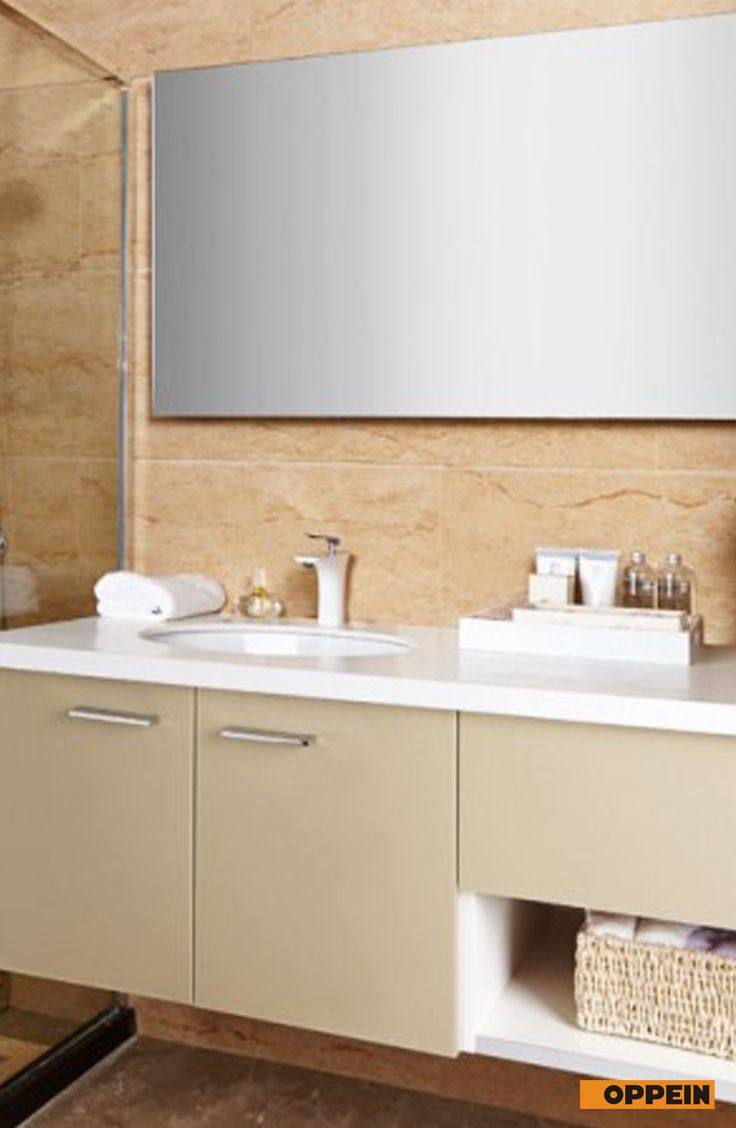 Modern Light Color High Gloss Acrylic Bathroom Cabinet within dimensions 736 X 1128