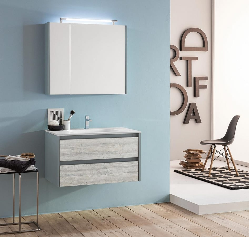 Modular And Space Saving Bathroom Cabinet Idfdesign throughout size 946 X 900