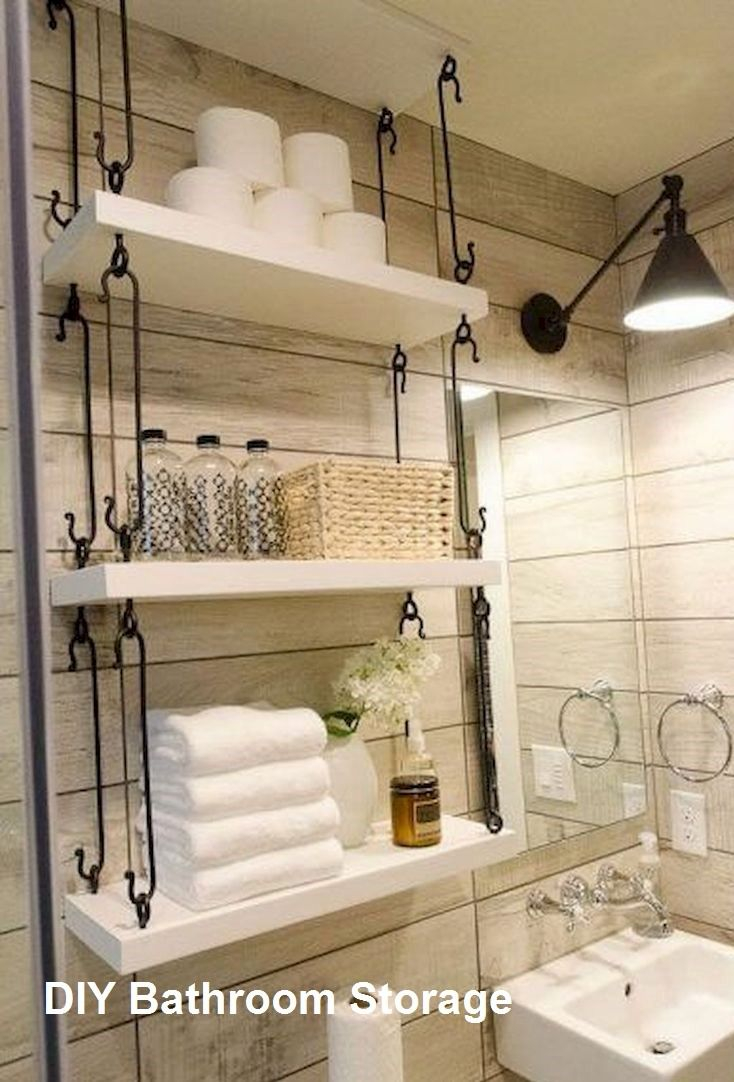 New Diy Bathroom Storage Ideas Bathroomstorage College regarding proportions 734 X 1082