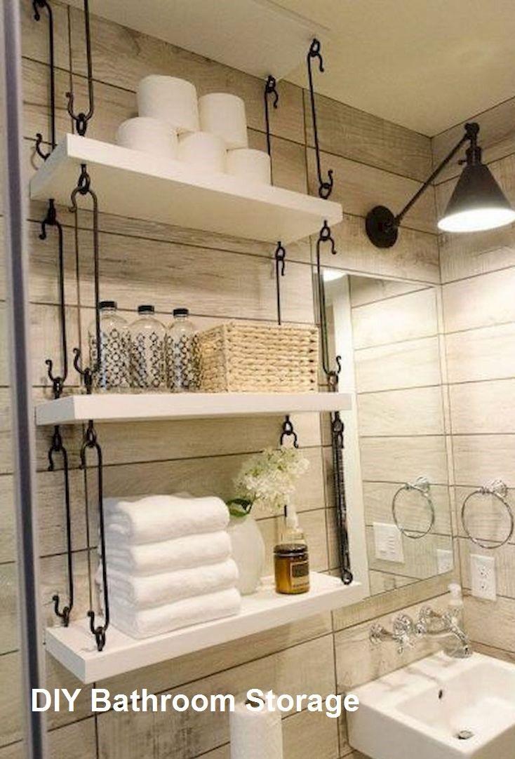 New Diy Bathroom Storage Ideas Bathroomstorage College regarding proportions 734 X 1082
