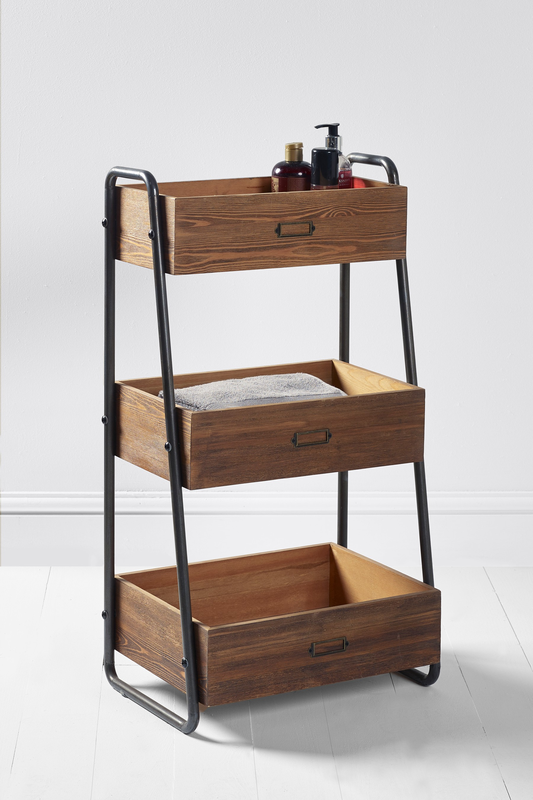 Next Hudson Tiered Caddy Natural Products Wooden regarding proportions 1800 X 2700