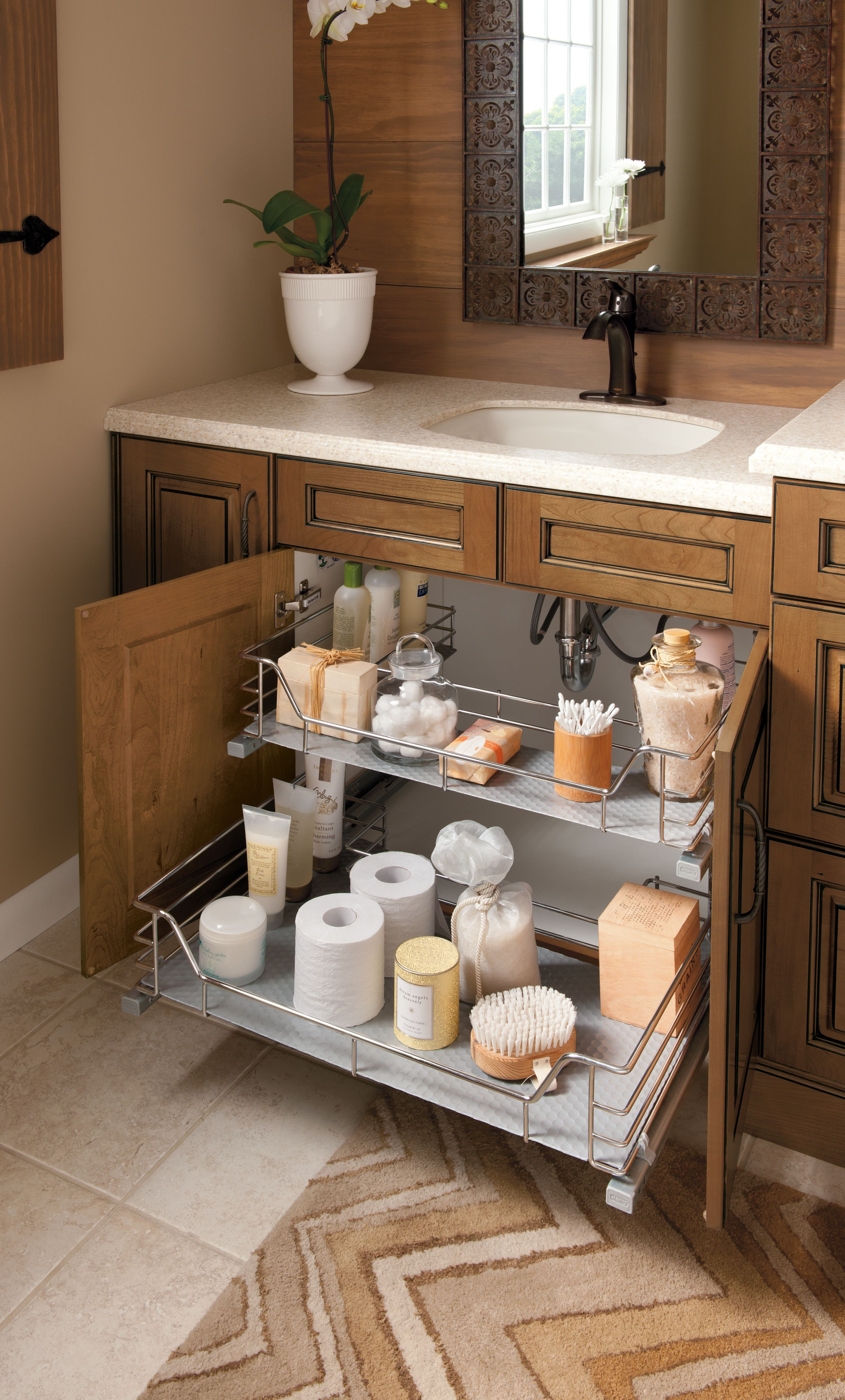 No More Lost Storage Space Under Your Vanity Sink With This regarding proportions 2897 X 4800