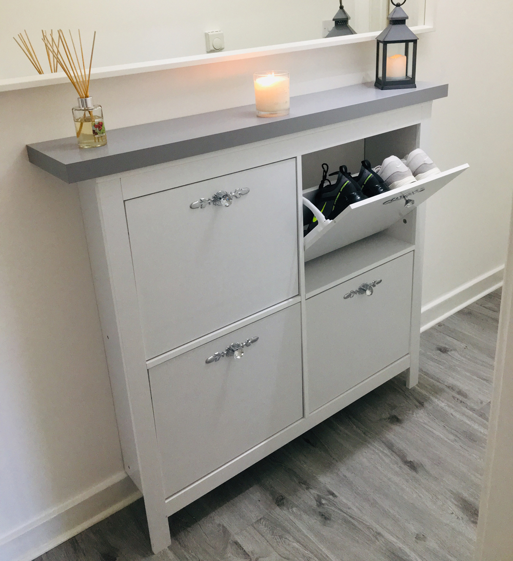 One Mrs Hinch Fan Gets The Look With Clever Hallway Storage within measurements 1000 X 1093
