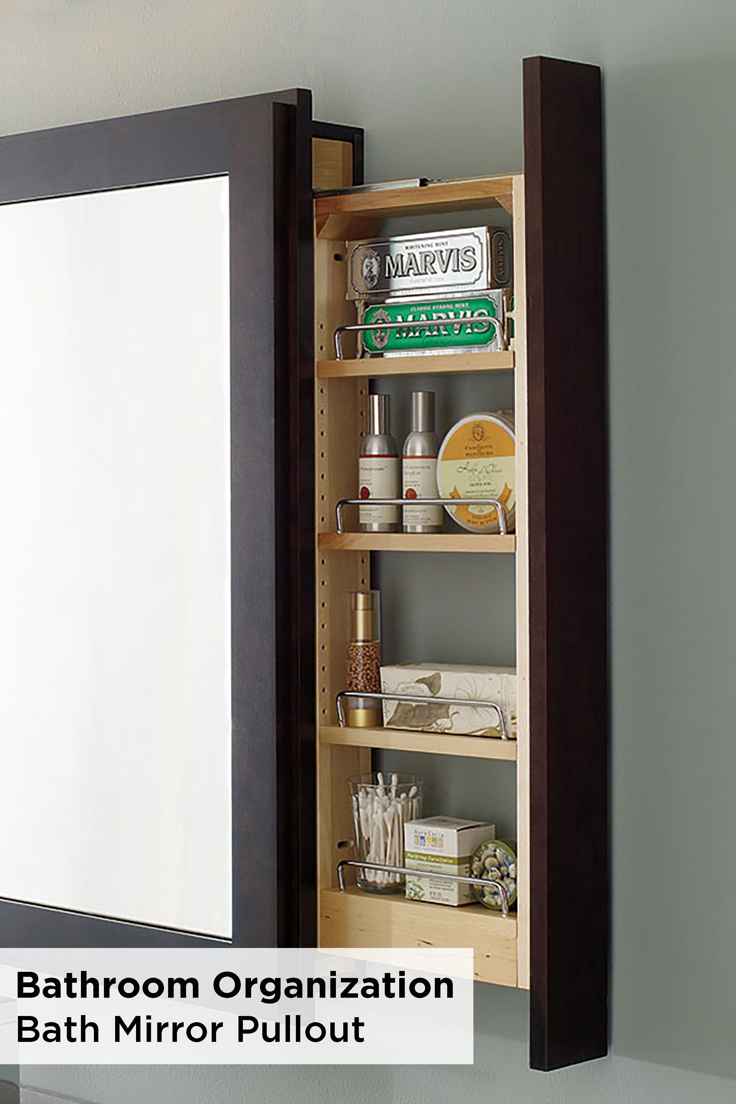 Optimize Space Using A Decora Bath Mirror With Pullout Shelf in measurements 2500 X 3750