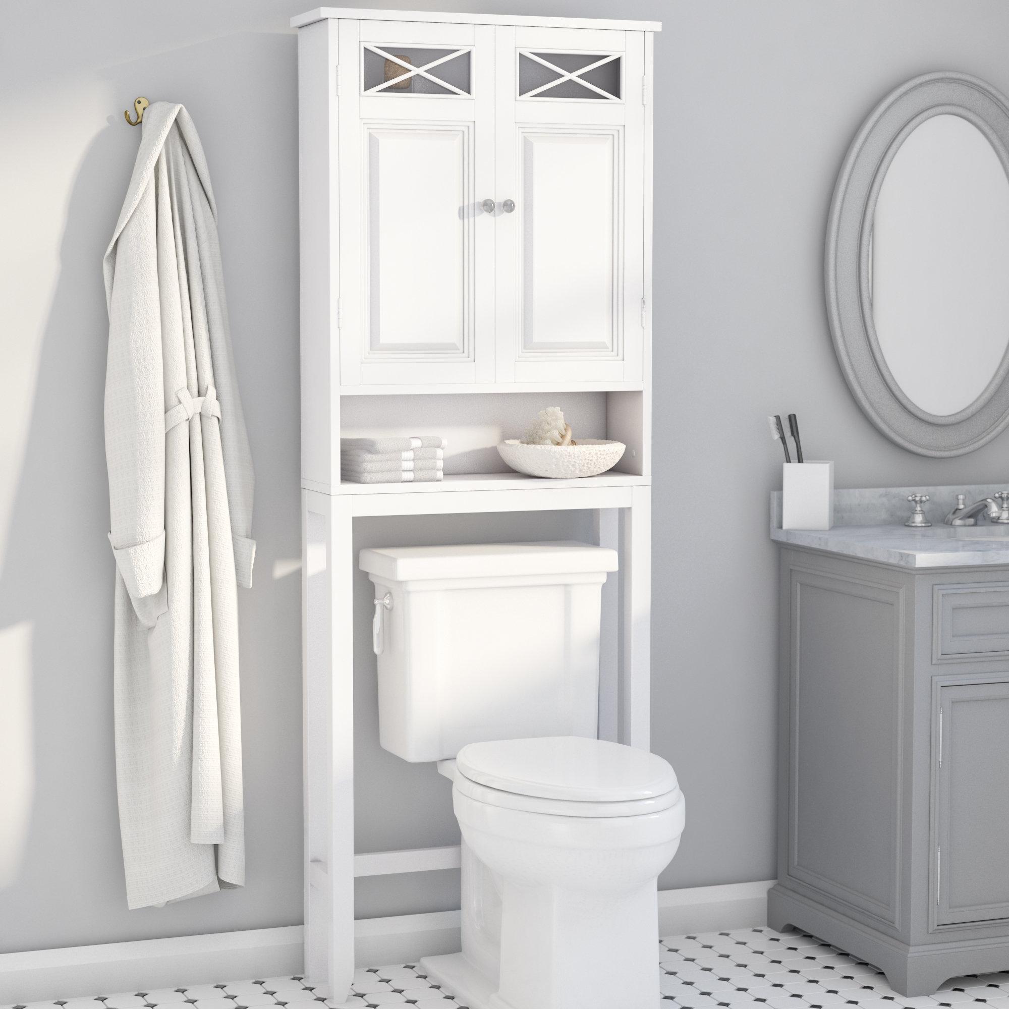 Over The Toilet Towel Storage Wayfair regarding proportions 2000 X 2000