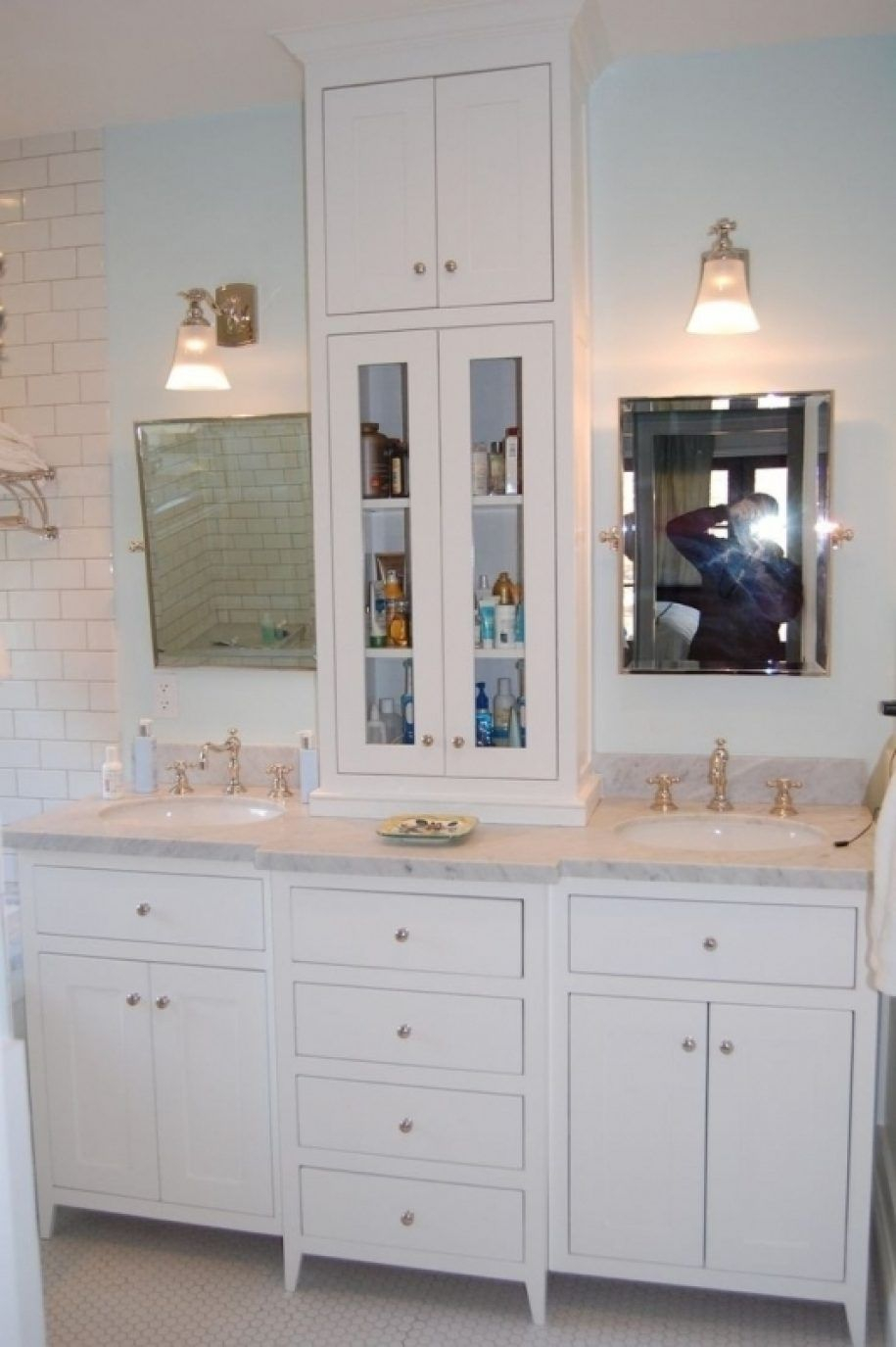 Radiant Ideas About Bathroom Counter Storage Tower D for proportions 915 X 1375