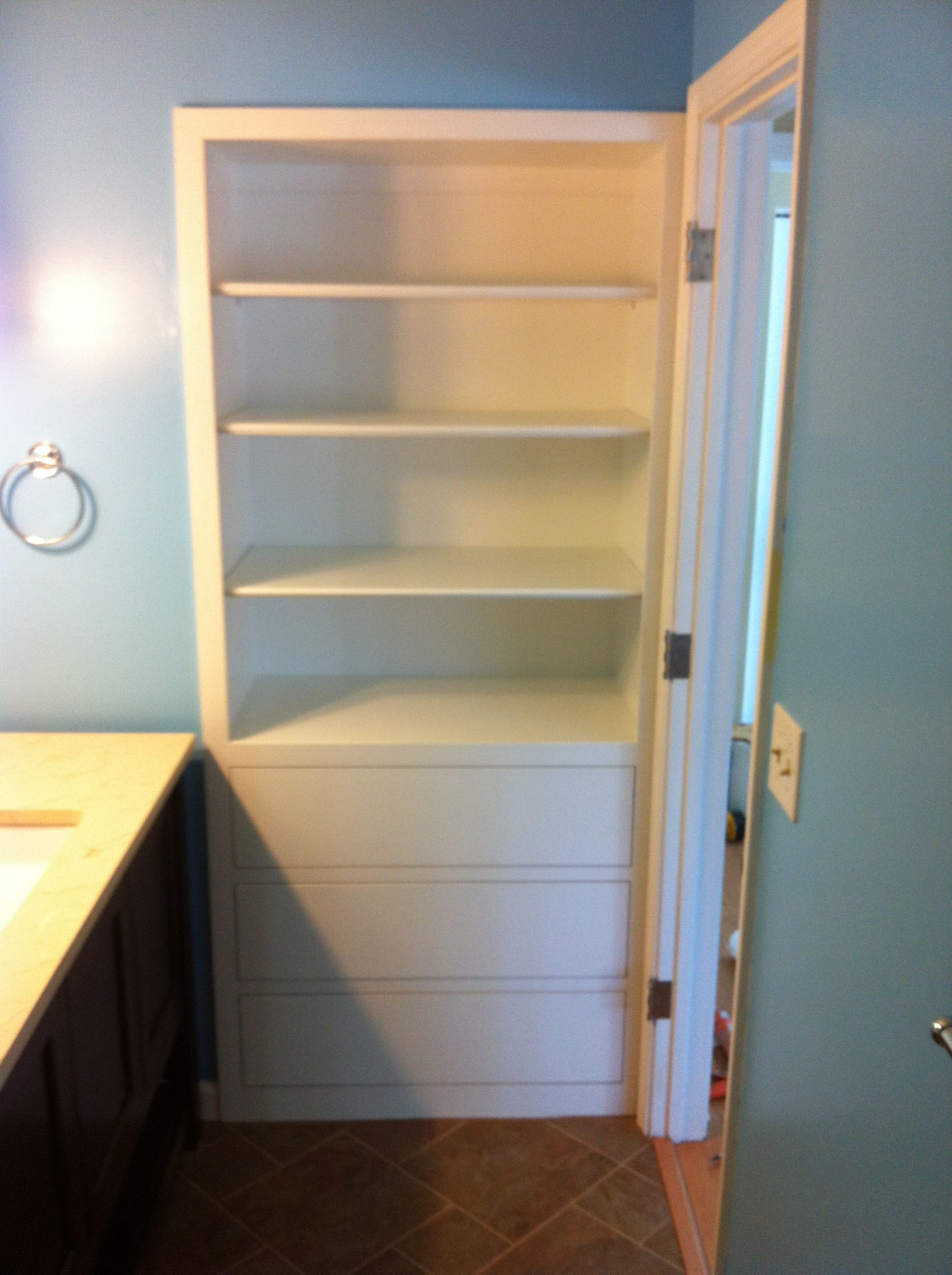 Recessed Bathroom Storage Cabinet Google Search Ect inside proportions 1936 X 2592