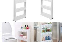 Slideout Storage Tower Trolley Organizer Slim Narrow Space regarding size 1000 X 1000