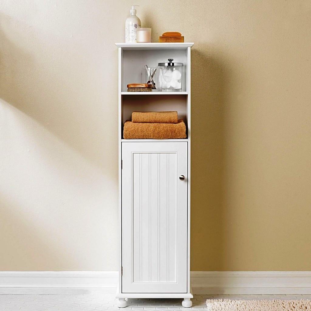 Slim Bathroom Floor Toiletry Storage Cabinet Stribal intended for dimensions 1024 X 1024