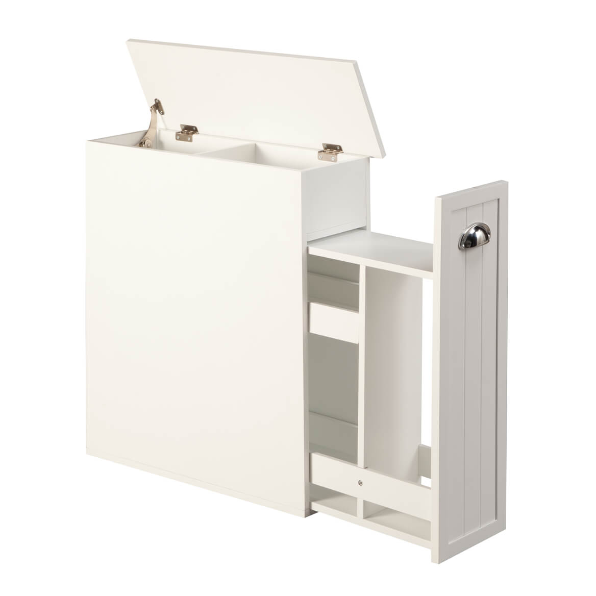 Slim Bathroom Storage Cabinet Oakridge in sizing 1168 X 1168