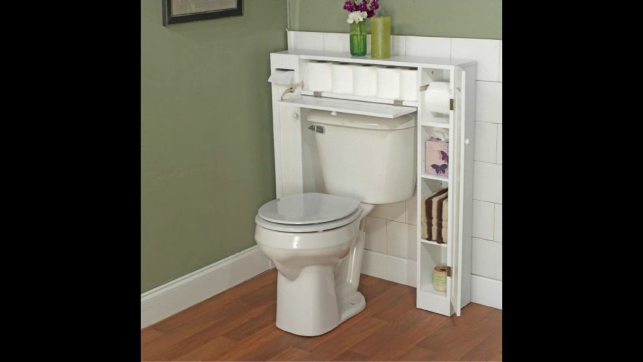 Small Bathroom Design Ideas Bathroom Storage Over The Toilet within size 1280 X 720