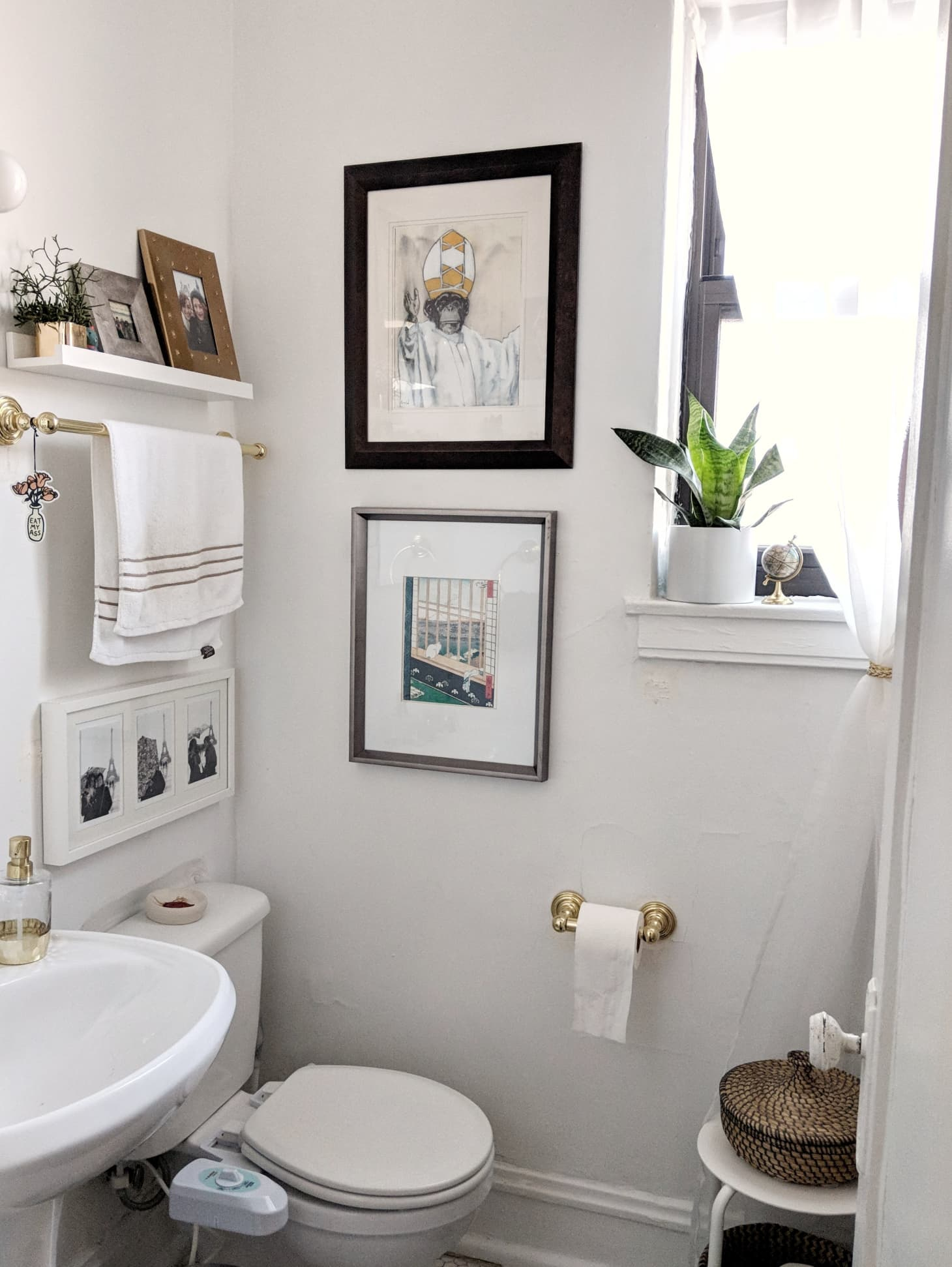 Small Bathroom Design Storage Ideas Apartment Therapy pertaining to size 1460 X 1943
