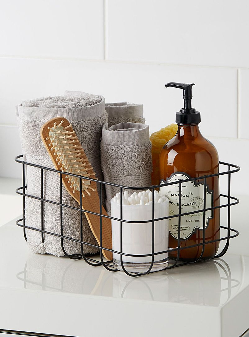 Small Metal Basket In 2019 Polka Home Metal Baskets for measurements 802 X 1086