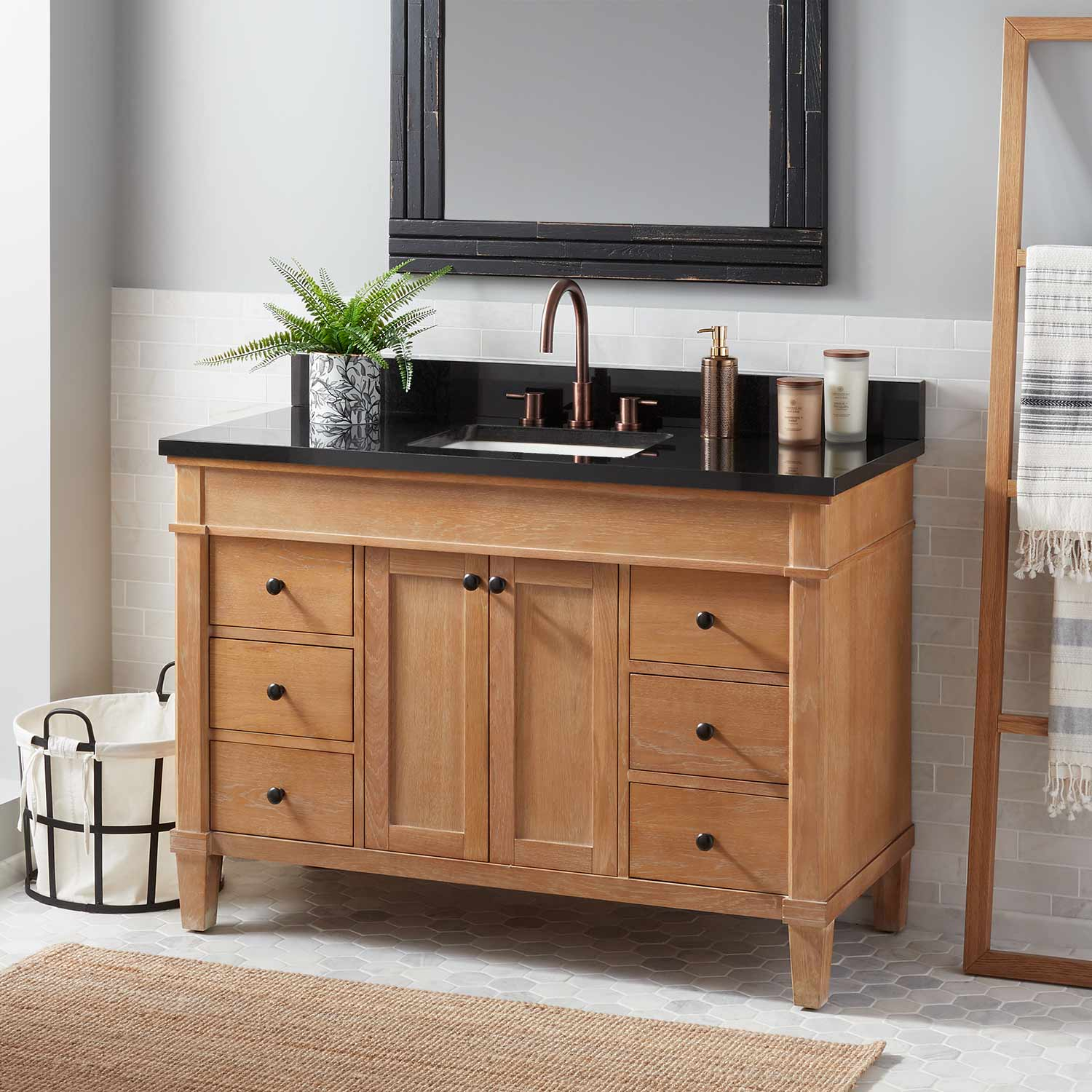 Solid Wood Bathroom Cabinets pertaining to proportions 1500 X 1500