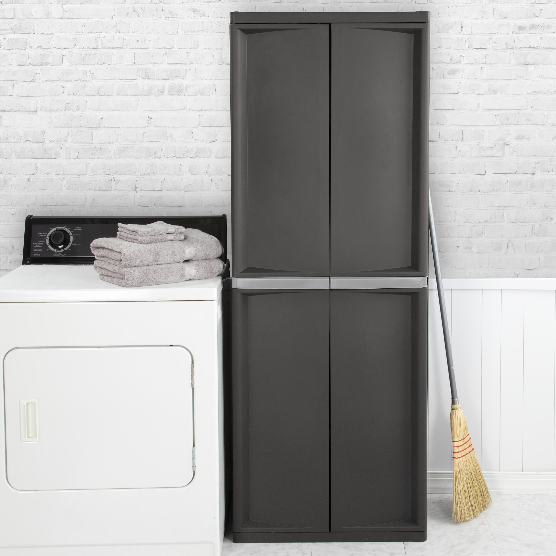 Sterilite 4 Shelf Cabinet in dimensions 3000 X 3000