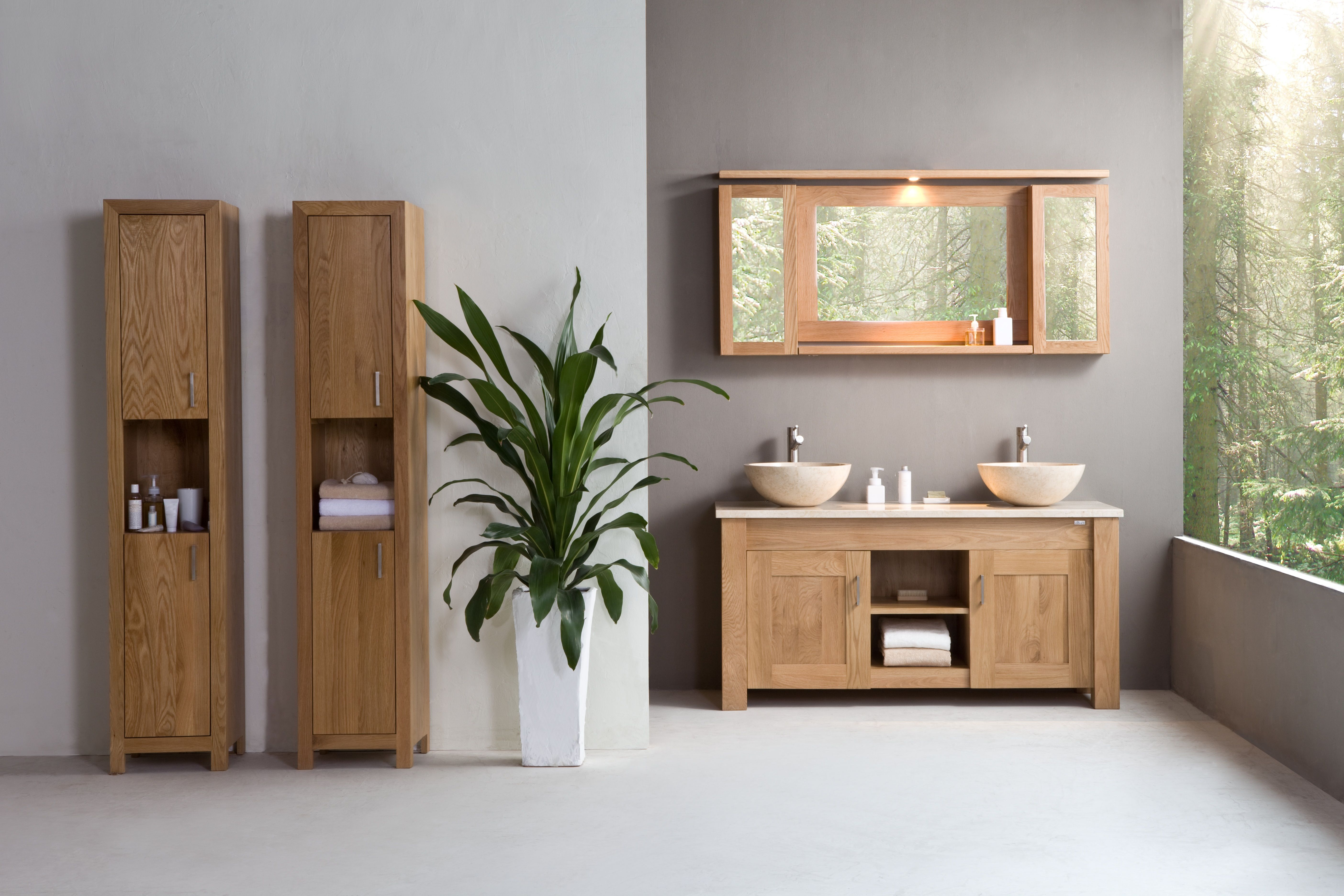 Stonearth Oak Finesse Cabinet Solid Wood Washstands This within sizing 5616 X 3744