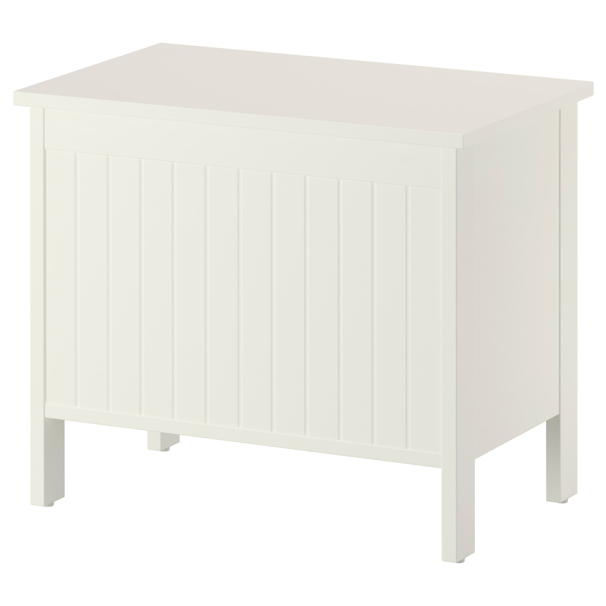 Storage Bench Silvern White in proportions 2000 X 2000