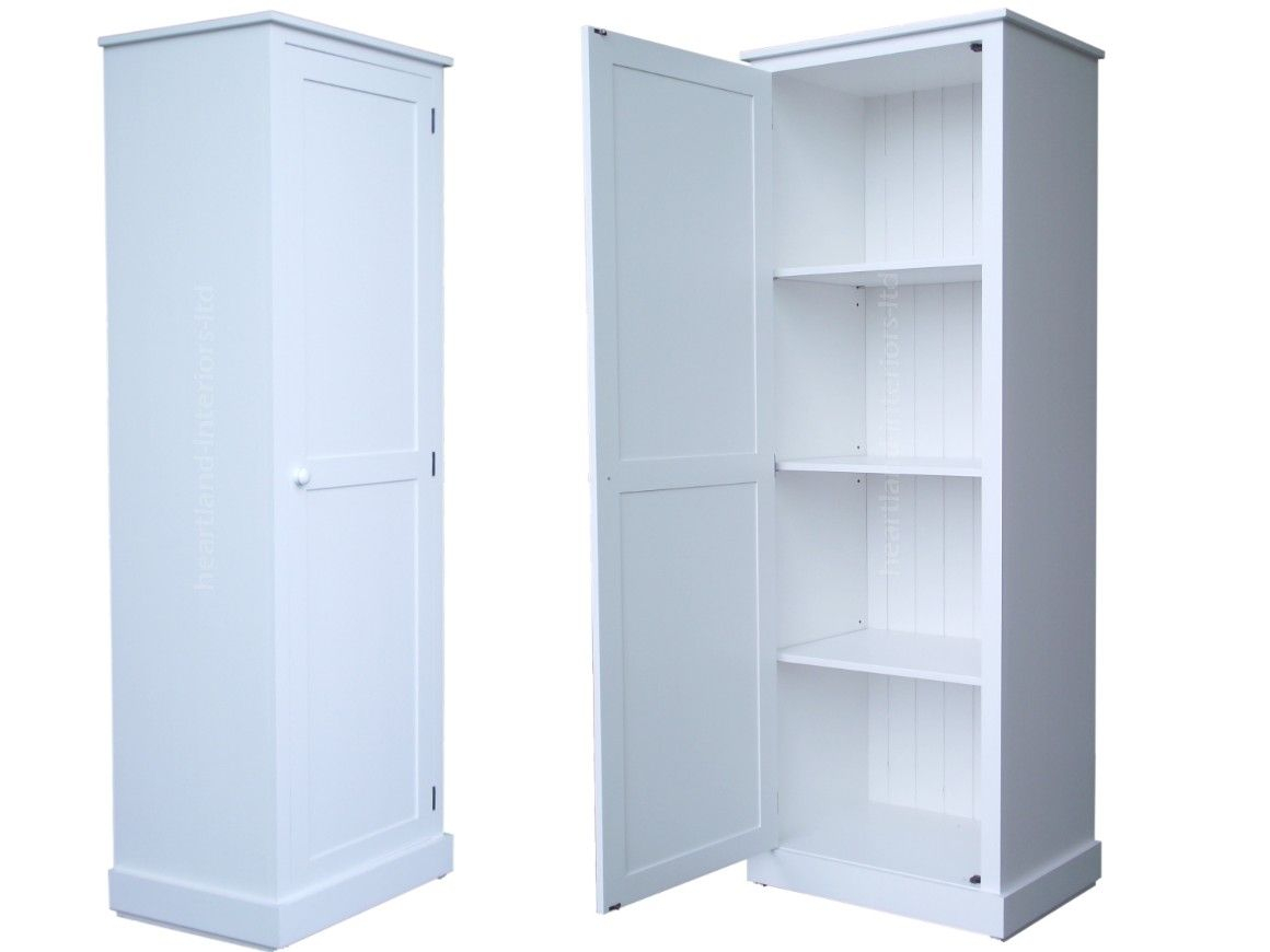 Tall Pantry Cabinet With Solid Wood Cupboardcm Tall White within sizing 1160 X 870