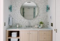 Tile Behind No Side Splash City Modern Fionas Bathroom regarding dimensions 1400 X 2101