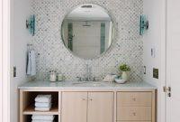 Tile Behind No Side Splash City Modern Fionas Bathroom regarding dimensions 1400 X 2101