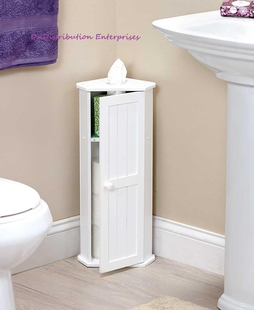 Toilet Paper Corner Storage Cabinet Space Saving Magnetic pertaining to measurements 819 X 1000