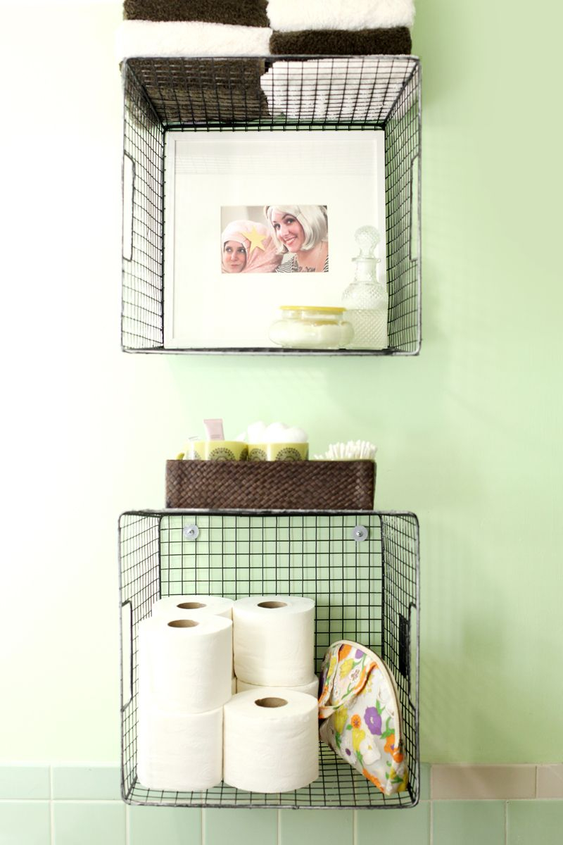 Try This Hanging Baskets For Bathroom Storage regarding sizing 800 X 1200