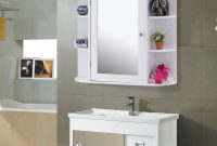 Us 12599 Giantex Multipurpose Mount Wall Surface Bathroom Storage Cabinet With Mirror White Modern Wood Bathroom Furniture Hw56729 On with proportions 1200 X 1200