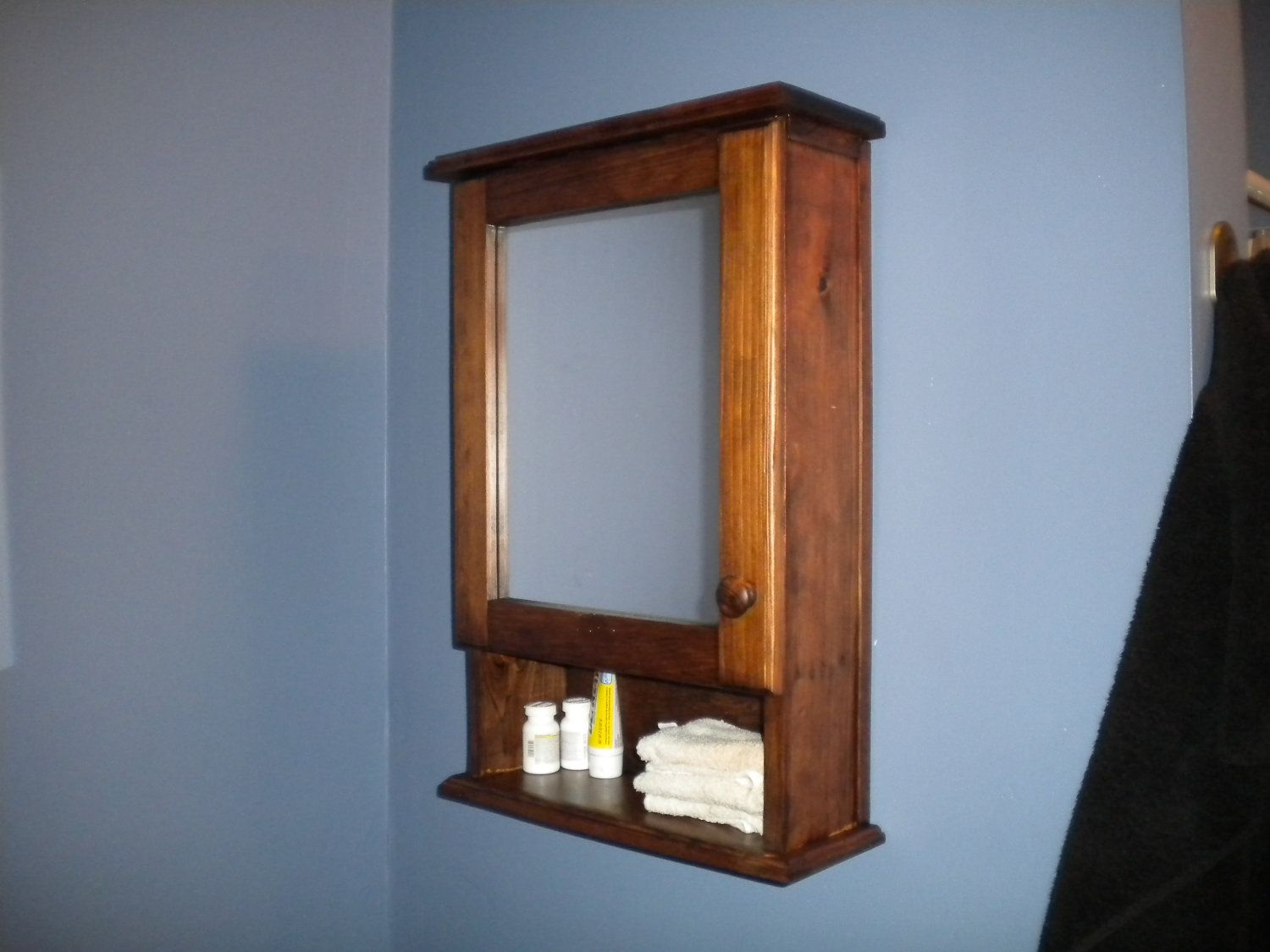 Wall Mounted Medicine Cabinet No Mirror Bathrooms Wood within size 1500 X 1125