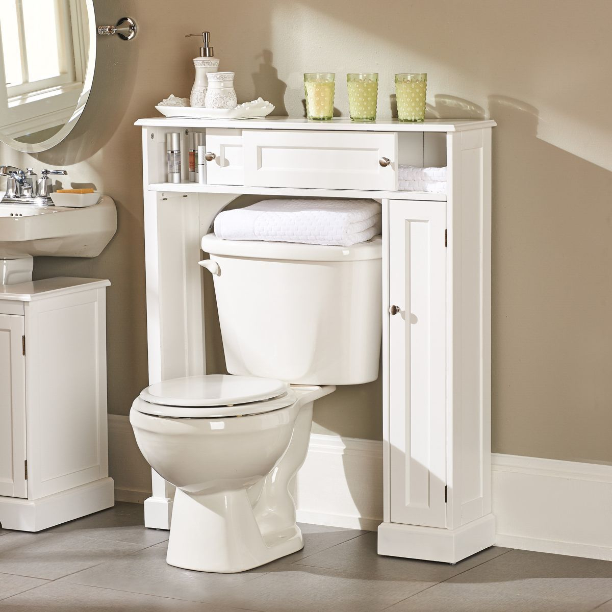 Weather Bathroom Over The Toilet Storage Cabinet with size 1200 X 1200