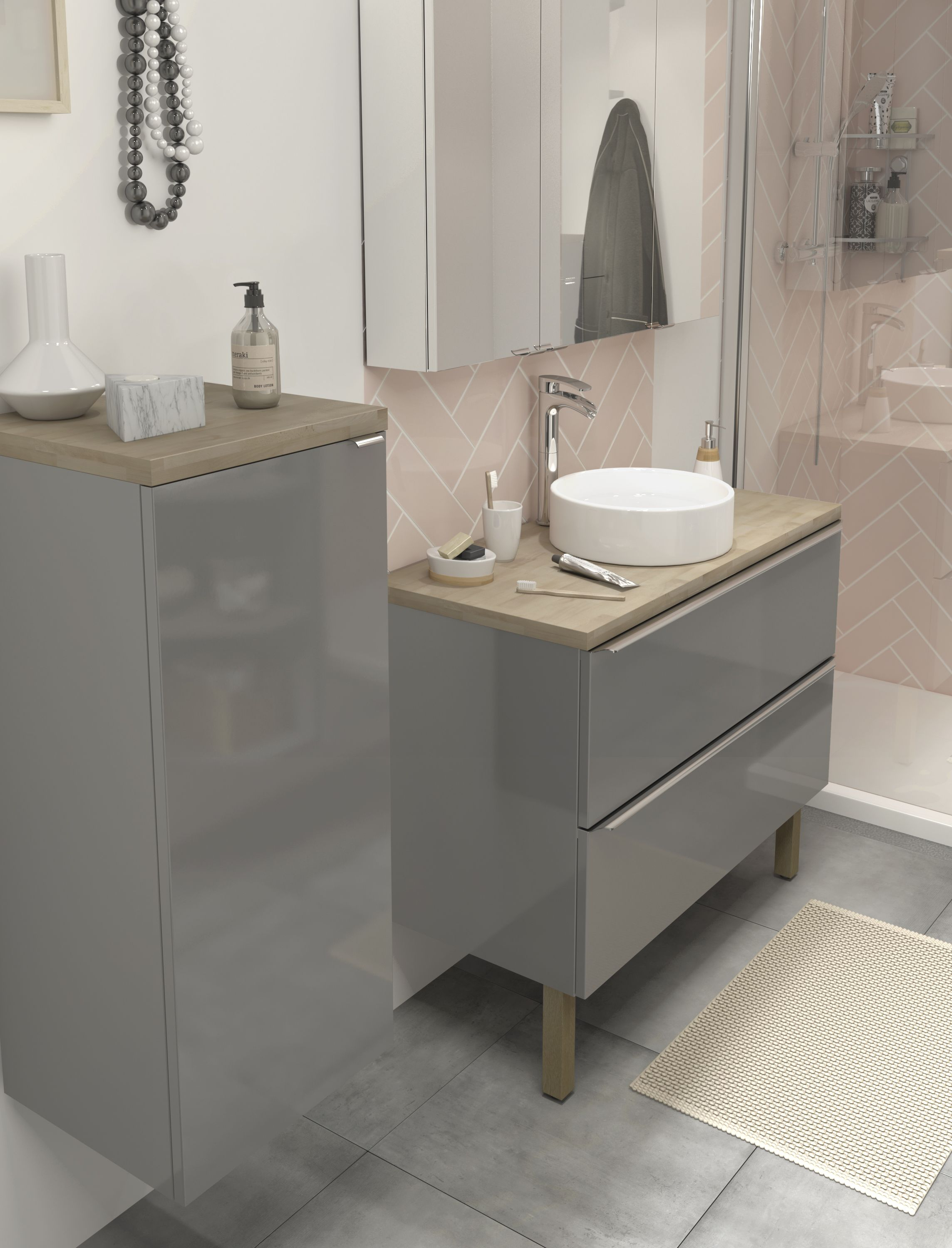When Modern Meets Rustic The Imandra Bathroom Collection throughout size 2288 X 3000