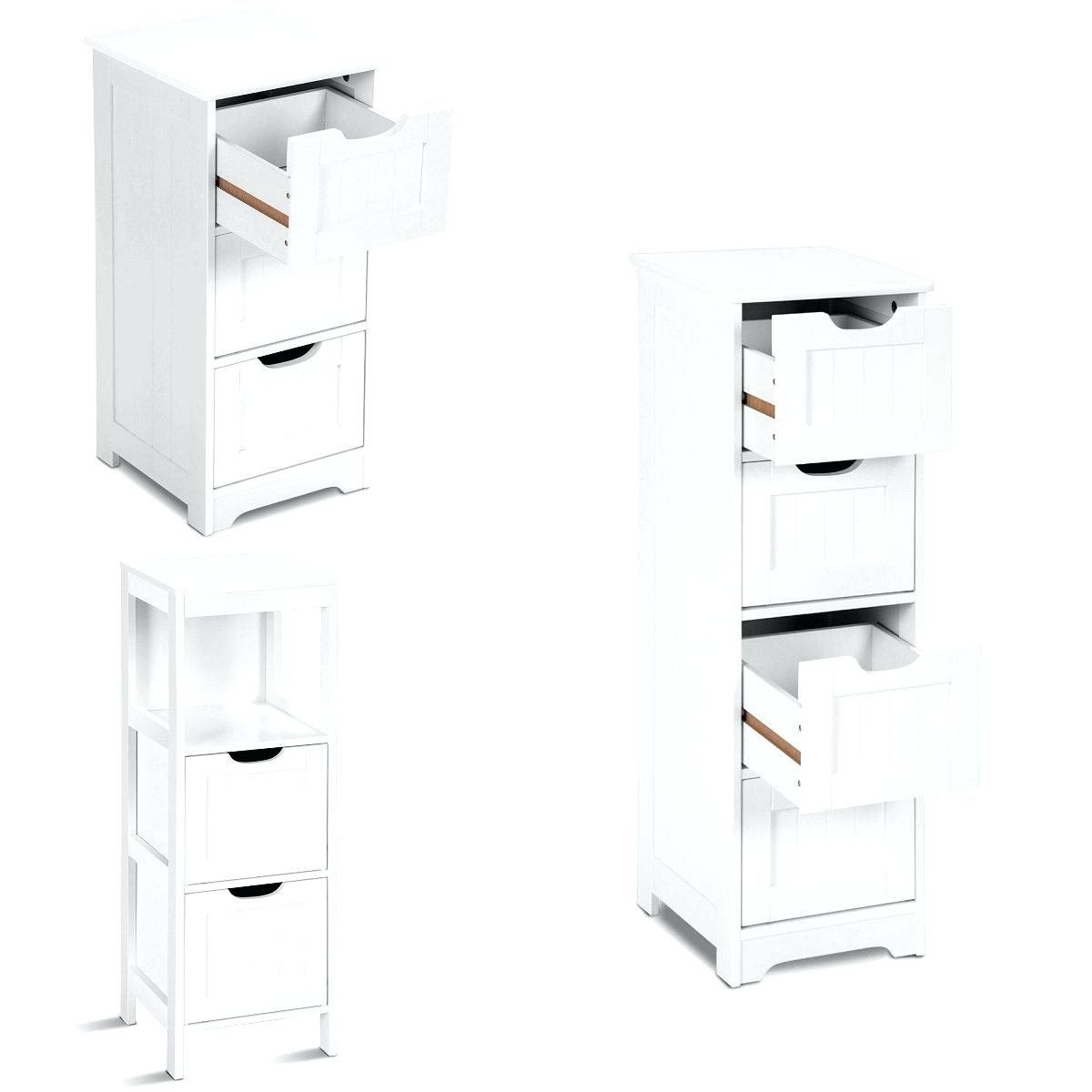 White Storage Cabinet Bathroom Slim Espresso Rolling 2 within proportions 1200 X 1200