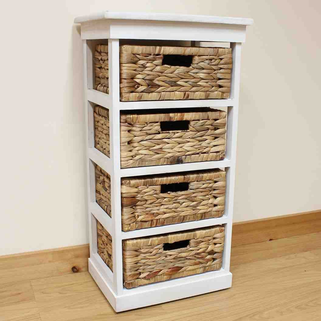 Wicker Storage Shelves Next Bed For Pnut In 2019 Wicker inside size 1056 X 1056
