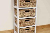 Wicker Storage Shelves Next Bed For Pnut In 2019 Wicker regarding dimensions 1056 X 1056