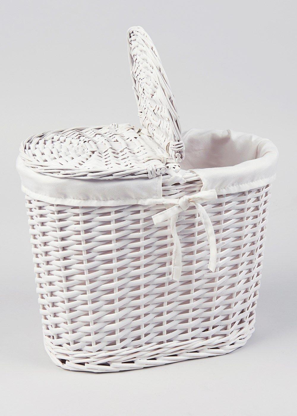 Wicker Toilet Roll Storage Basket 19cm X 33cm X 30cm with regard to dimensions 1000 X 1400