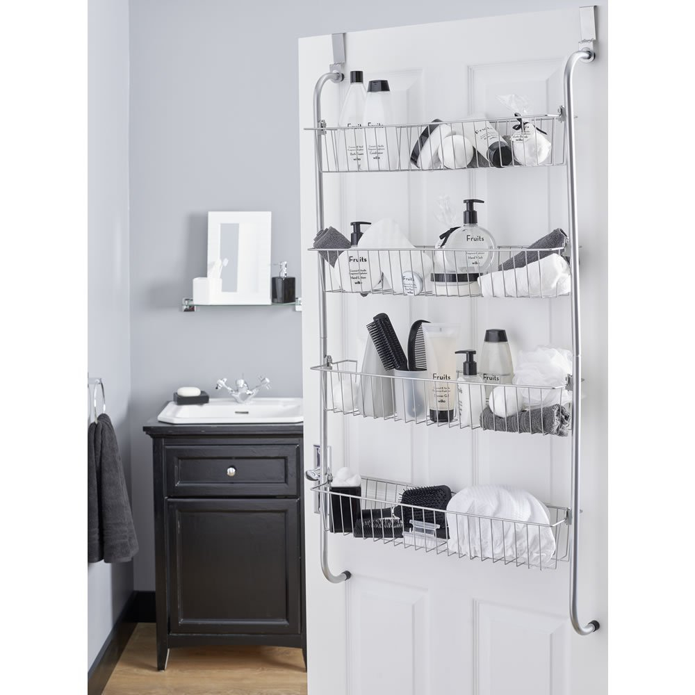 Wilko Over Door Storage Rack for dimensions 1000 X 1000