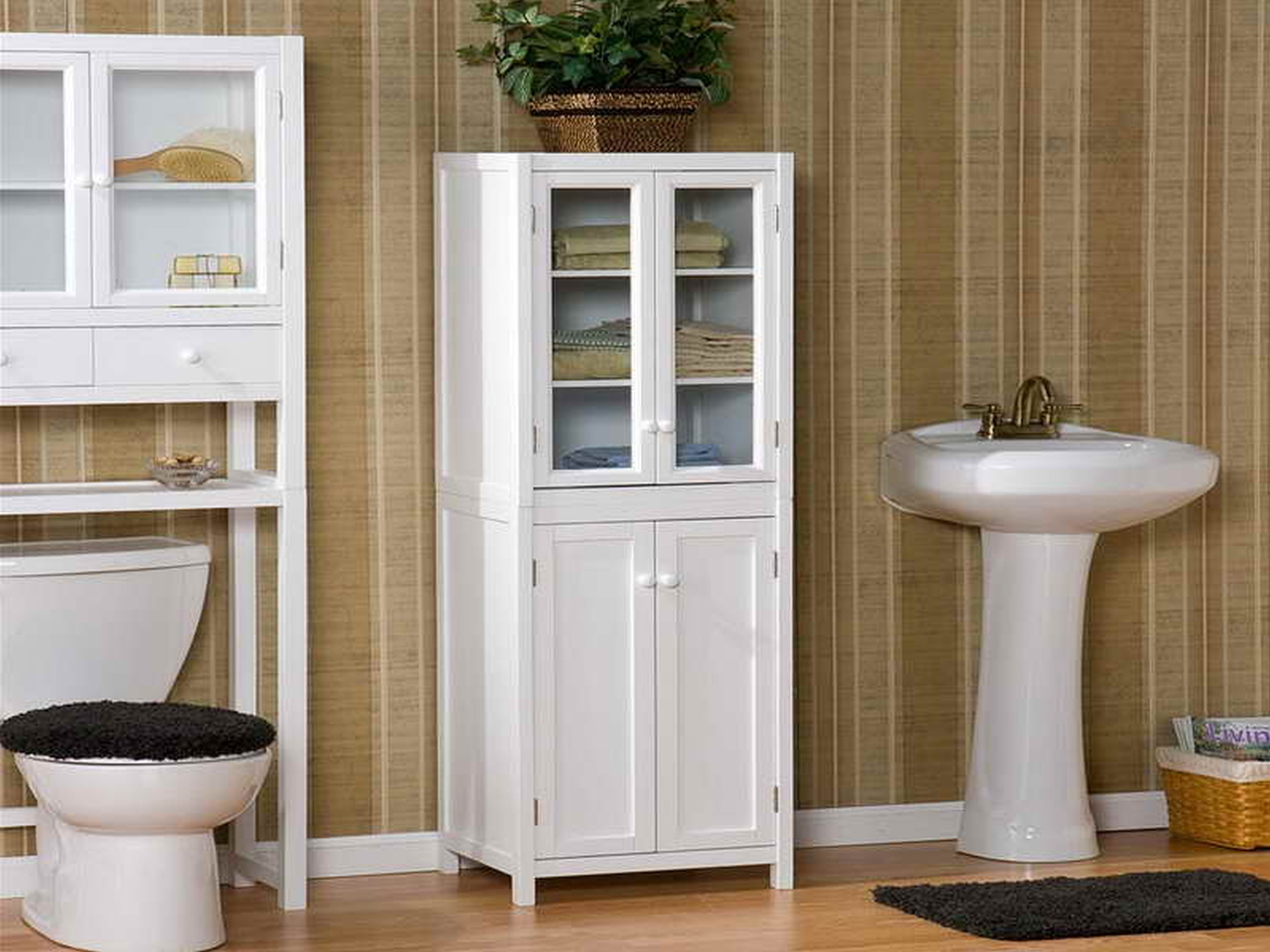 Wunderbar Bathroom Storage Cabinet On Wheels Countertop for dimensions 5000 X 3750